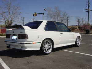 1988 BMW e30 M3 Alpine White For Sale