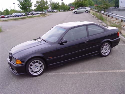 1995 BMW e36 M3 Black on Black For Sale