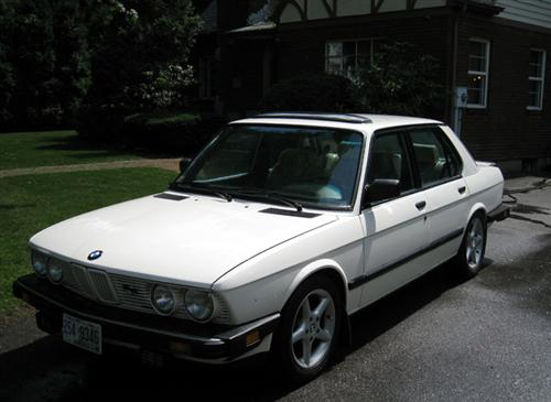 1985 BMW e28 528 For Sale