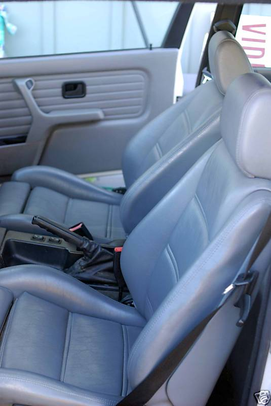 1991 Bmw E30 M3 For Sale Interior View Dove Gray Leather
