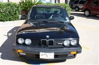 1988 BMW e28 M5 For Sale Black on Black