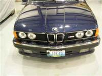 1988 BMW e24 M6 For Sale Blue