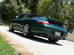 2001 Porsche Carrera 911 Cabrio For Sale Emerald Green