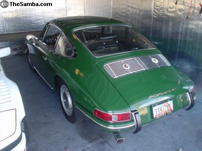 1966 Porsche 911 Irish Green For Sale