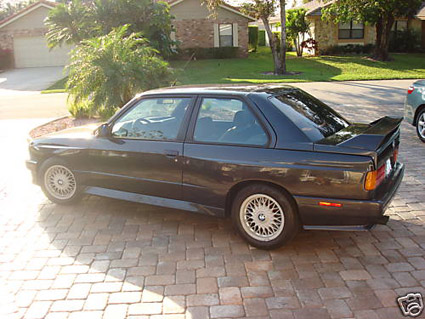 diamondschwartz black bmw e30 m3 for sale