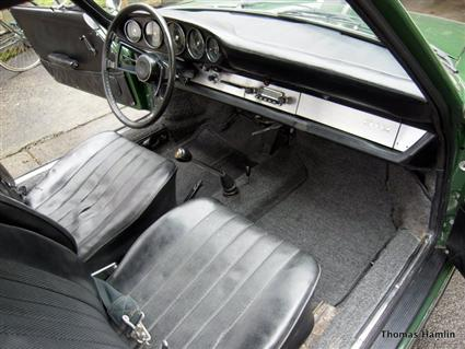 1967 Porsche 912 For Sale Interior View