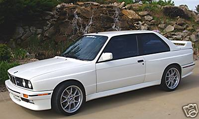Alpine White BMW e30 M3 For Sale