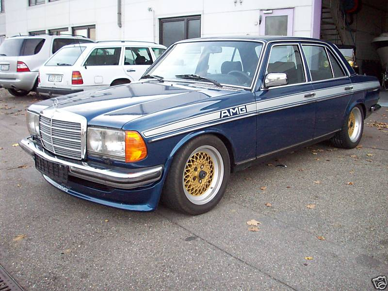 Old School Mercedes W123 280 Amg German Cars For Sale Blog