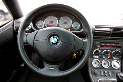 2002 BMW M Coupe Cockpit