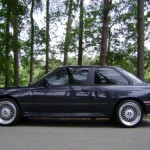 1989 BMW e30 M3 For Sale Black S50 Conversion