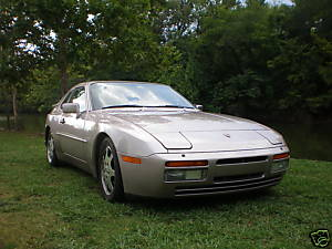 Porsche 944 Turbo S Silver Rose For Sale