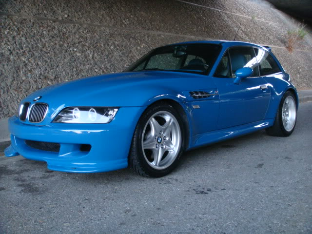 2002 Laguna Seca Blue S54 Z3 M Coupe For Sale In
