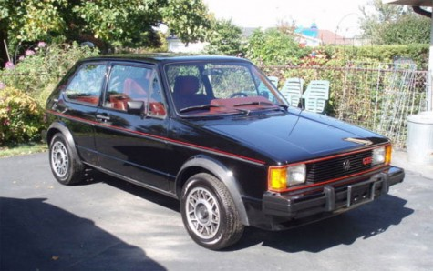 1984 Volkswagen GTi with 517 Miles For Sale