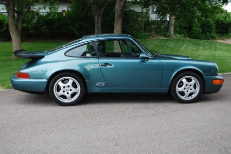 1993 Porsche 911 RS America in Teal For Sale