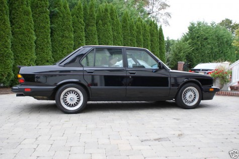 1988 BMW e28 M5 For Sale with only 12k miles