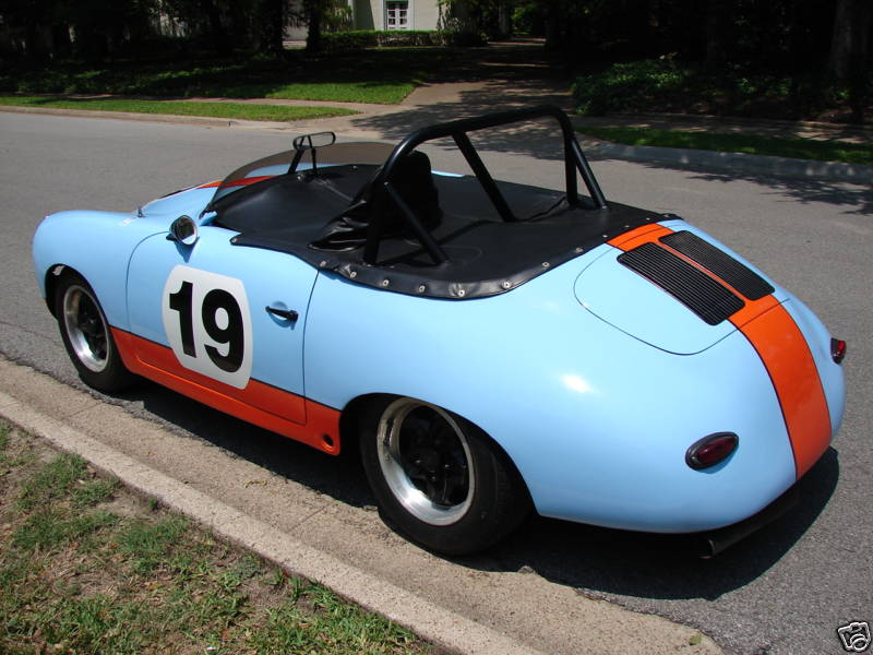 1963 Porsche 356b Cabriolet Race Car German Cars For