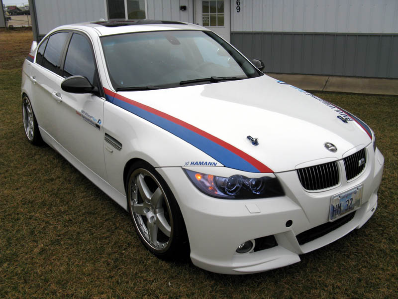 2006 bmw 330i hamann in motorsport colors german cars. Black Bedroom Furniture Sets. Home Design Ideas