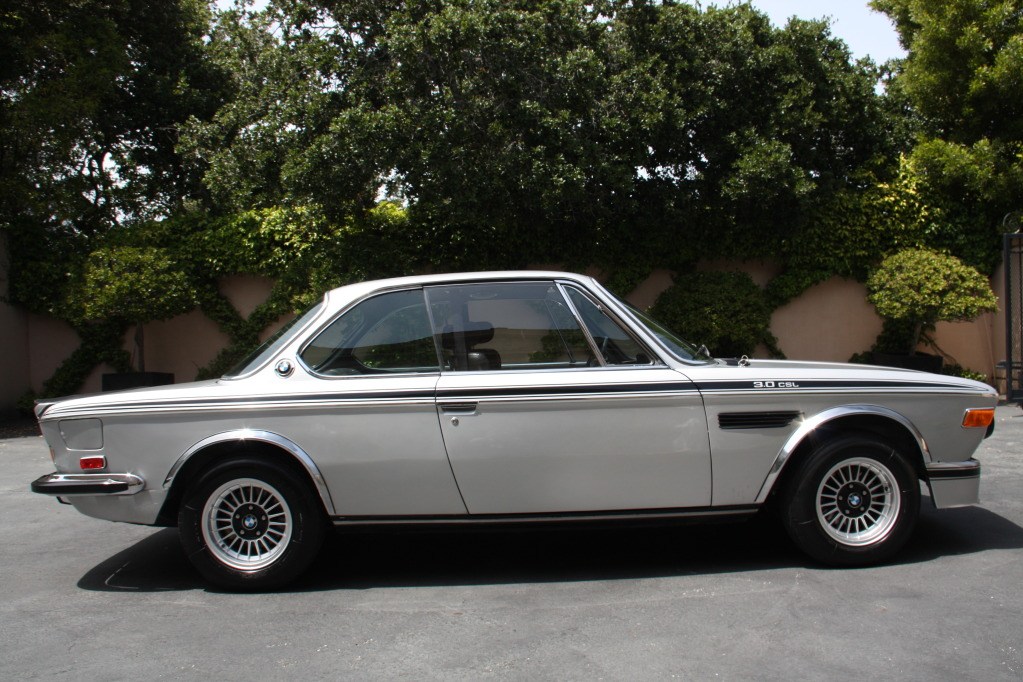 1973 Bmw 3 0 Csl Looking Fine In Silver German Cars For