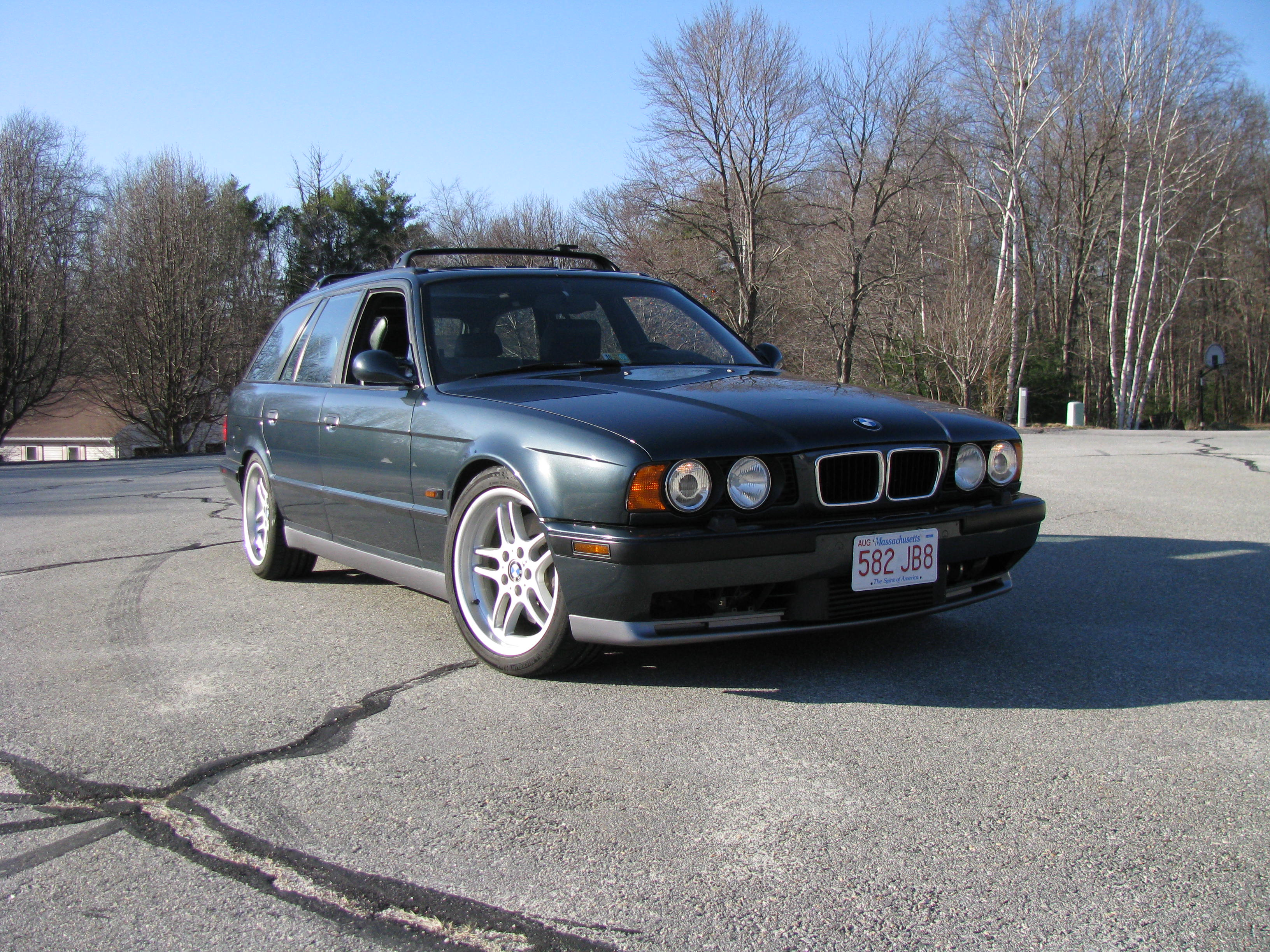 1995 Bmw M5 E34 Touring Wagon Supercharged German Cars