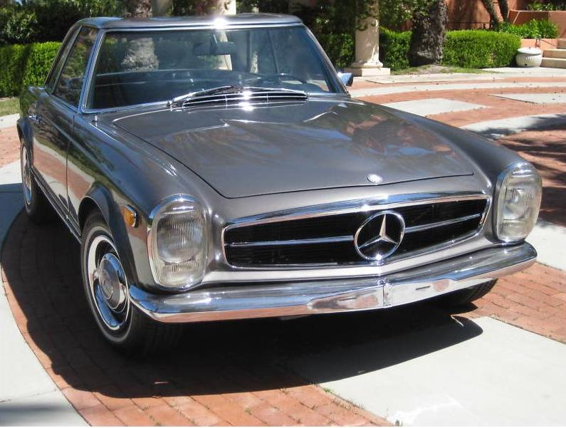 1967 Mercedes Benz 250sl With Zf 5 Speed German Cars For