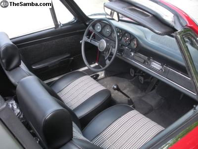 1968 Porsche 911s Softie Interior Ii German Cars For