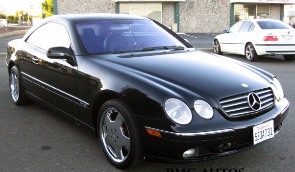 Help with color ID on this 2001 CL600 - Mercedes-Benz Forum