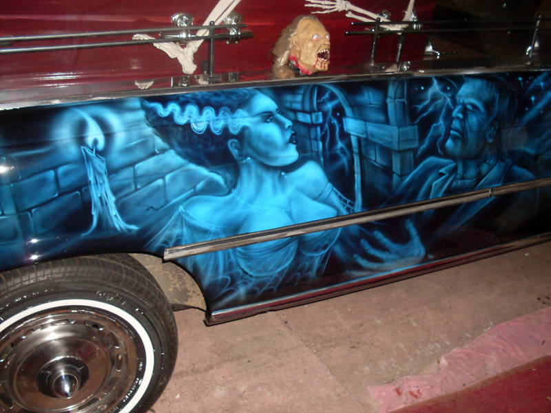 1974 Mercedes 280s Custom Crazy Hearse German Cars For