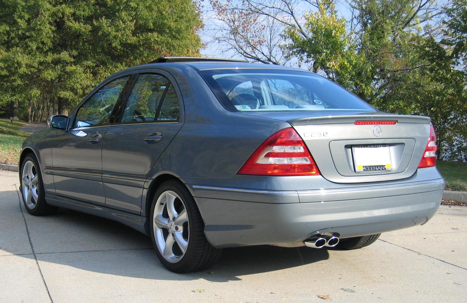 2007 mercedes benz c230 german cars for sale blog for Mercedes benz c230 coupe