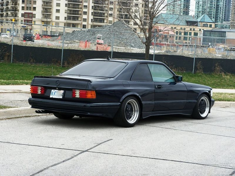 1988 mercedes benz 560sec 6 0 amg widebody german cars. Black Bedroom Furniture Sets. Home Design Ideas