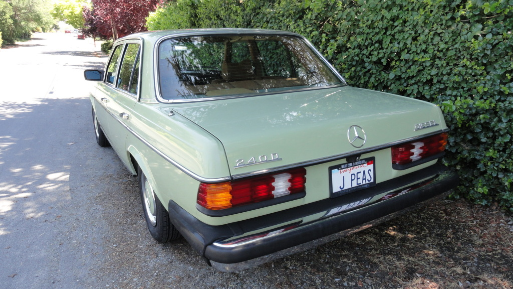 1977 mercedes benz 240d with 52 000 original miles for Mercedes benz 240d for sale