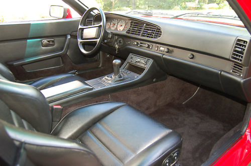 1986 Porsche 944 Turbo Interior Ii German Cars For Sale Blog