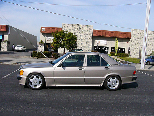 1986 mercedes 190e 2 3 16v cosworth daily driver german for Mercedes benz family discount