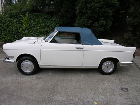 1963 BMW 700 Cabriolet – German Cars For Sale Blog