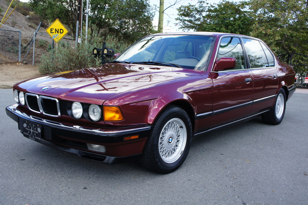 Bmw Leather Cleaner >> 1994 BMW 740iL with 52k miles   German Cars For Sale Blog