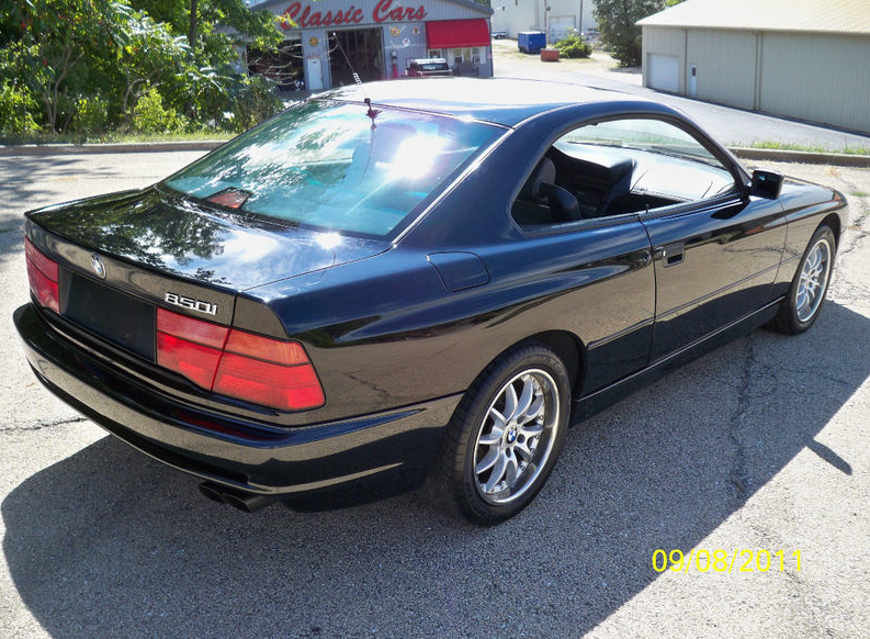 1991 Bmw 850i 6 Speed German Cars For Sale Blog