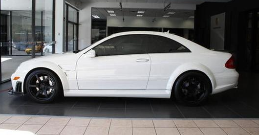 Graham rahal 39 s supercharged clk63 black series for sale for Rahal mercedes benz pittsburgh
