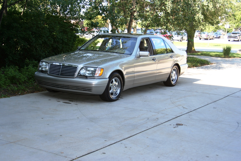 1998 mercedes benz s600 with 10 000 miles german cars. Black Bedroom Furniture Sets. Home Design Ideas