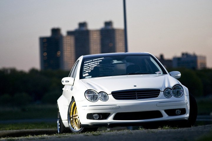 Mercedes C Widebody
