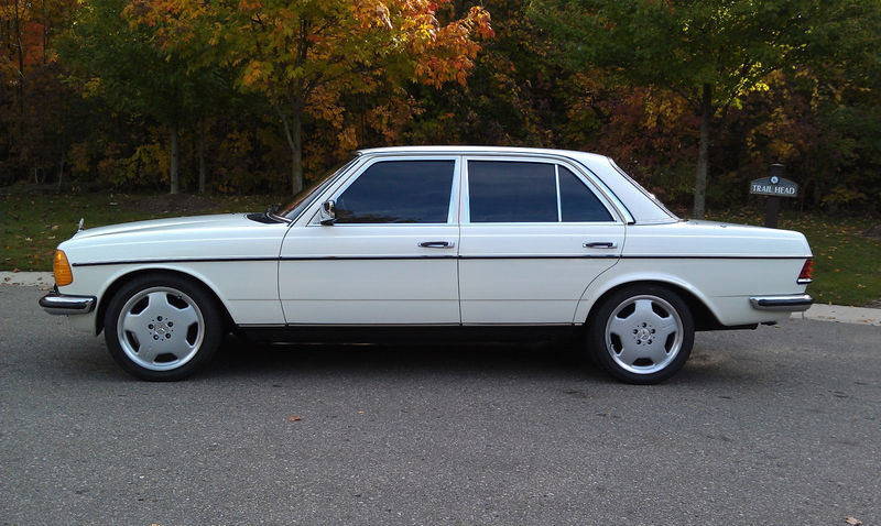Low Mile 1979 Mercedes 240D Converted To 300D Turbo Sedan