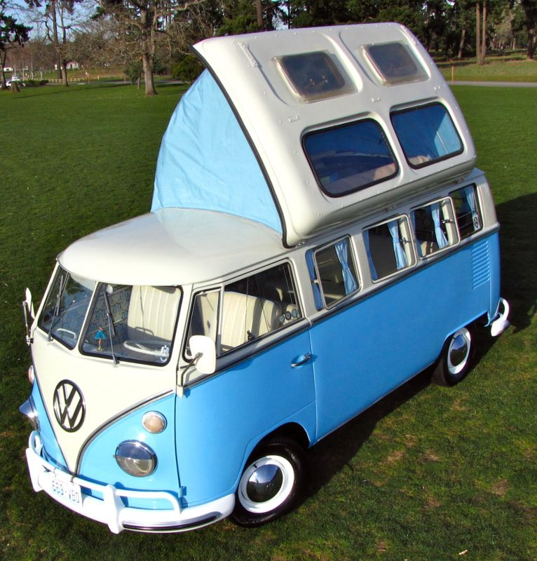 1964 volkswagen bus vanagon 13 window dormobile kombi for sale german cars for sale blog. Black Bedroom Furniture Sets. Home Design Ideas