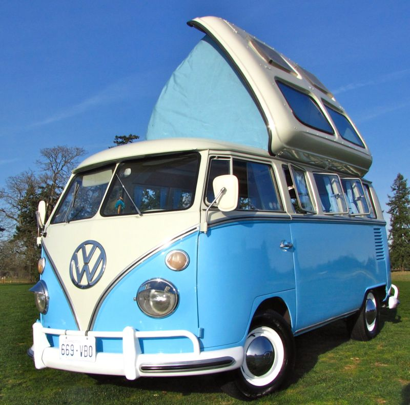 1964 Volkswagen Bus Vanagon 13 Window Dormobile Kombi For