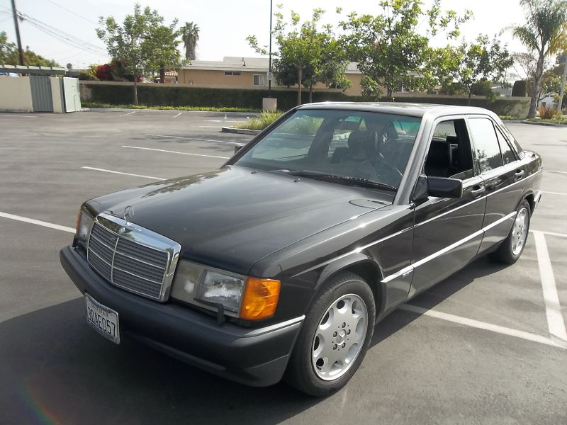 1993 Mercedes Benz 190e 2 6 Sportline 5 Speed Manual