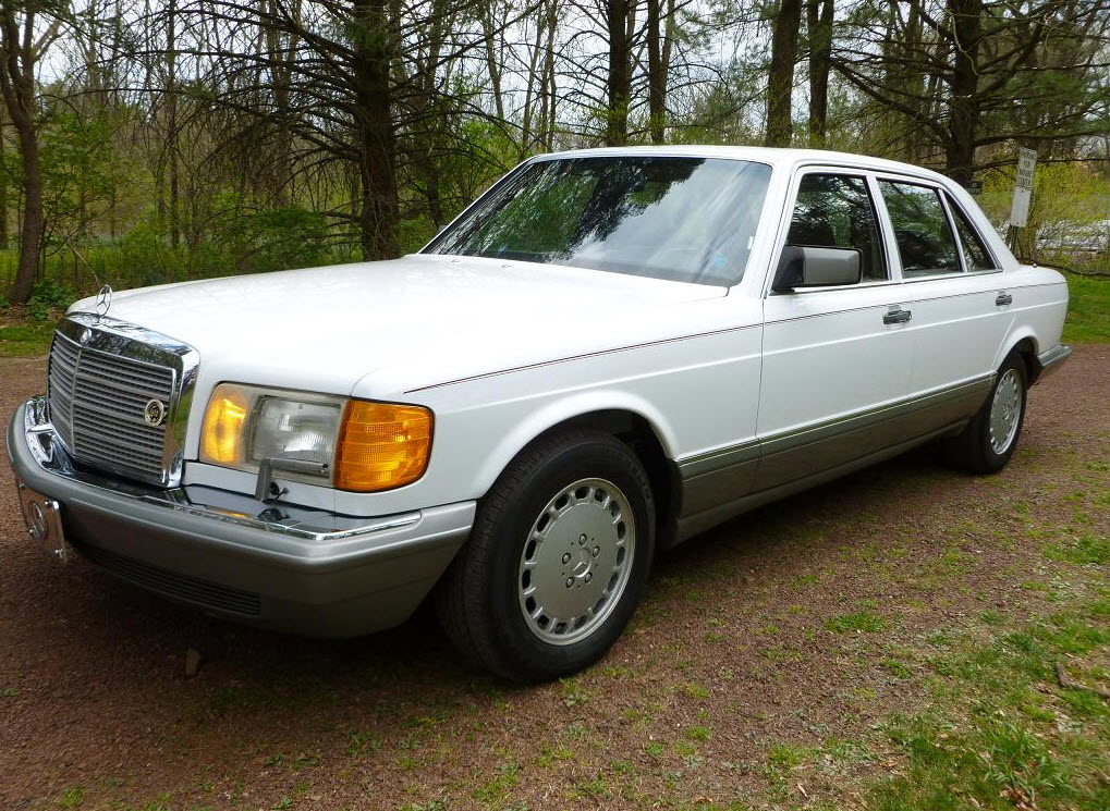 Accident Cars For Sale In Usa >> 1986 Mercedes-Benz 420SEL | German Cars For Sale Blog