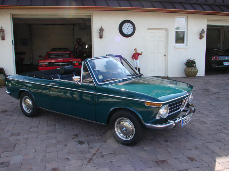 1970 Bmw 1600 2 Baur Convertible German Cars For Sale Blog
