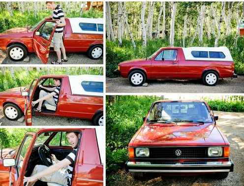 All go and no show: 1981 VW Rabbit Pickup with brand-new