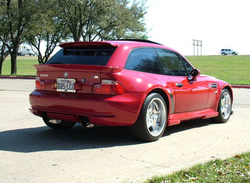 Scared Of Clowns Scary Bmw Clownshoe M Coupe For Sale