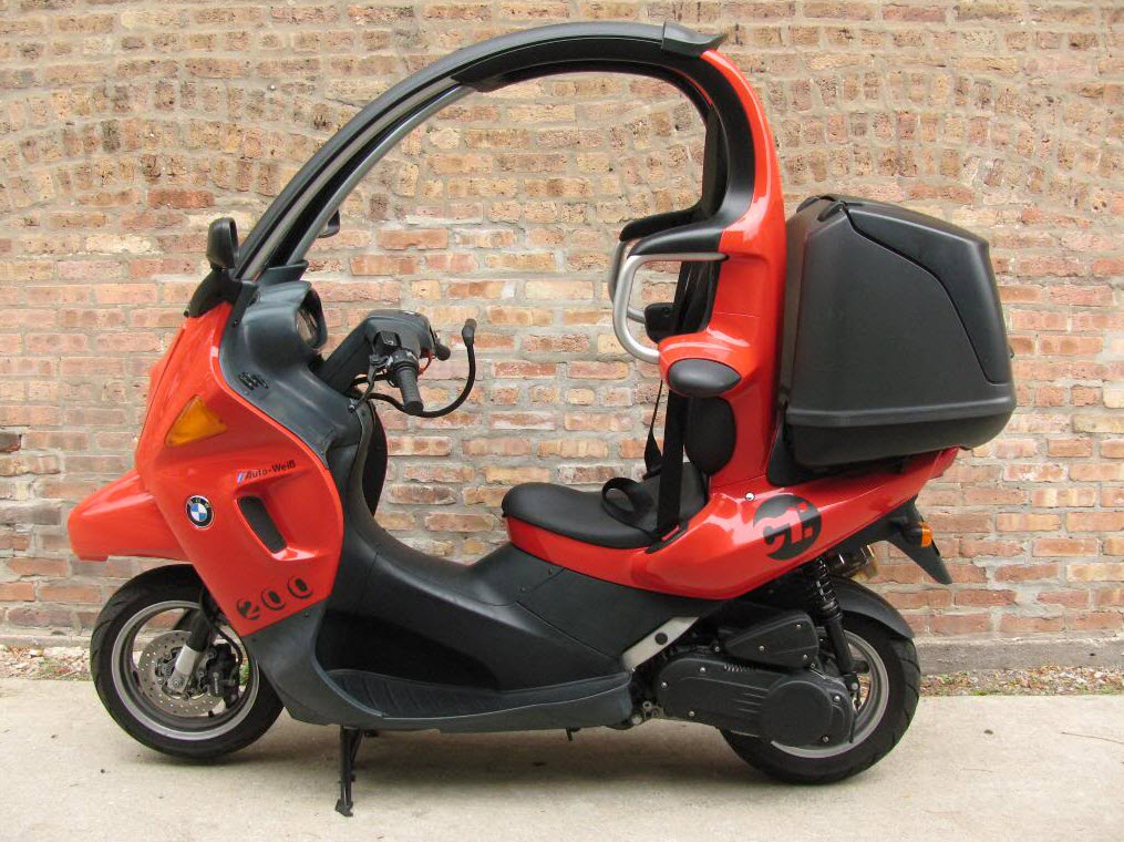 2001 Bmw C1 200cc Scooter German Cars For Sale Blog
