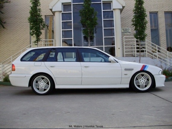 2002 Bmw 525it Touring Sport Wagon M5 Clone German Cars For Sale Blog