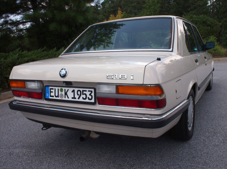 1987 Bmw 518i  U2013 German Cars For Sale Blog