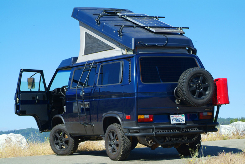 Insane 70 000 Volkswagen Syncro Westfalia German Cars